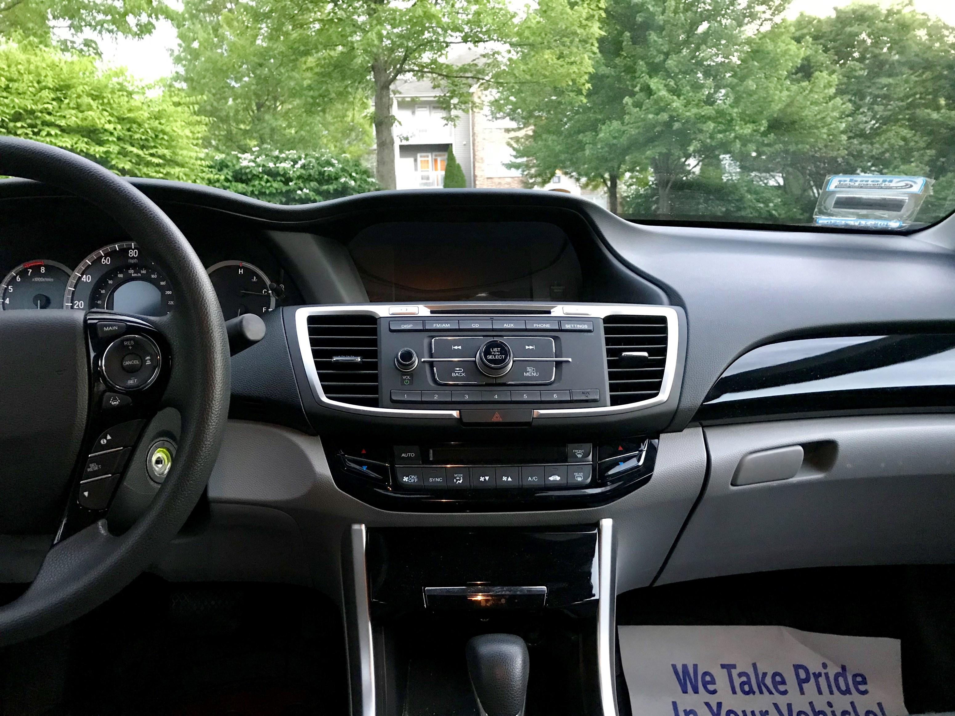 2016 Honda Accord 4dr LX W Honda Sensing Used Honda Accord Cars in
