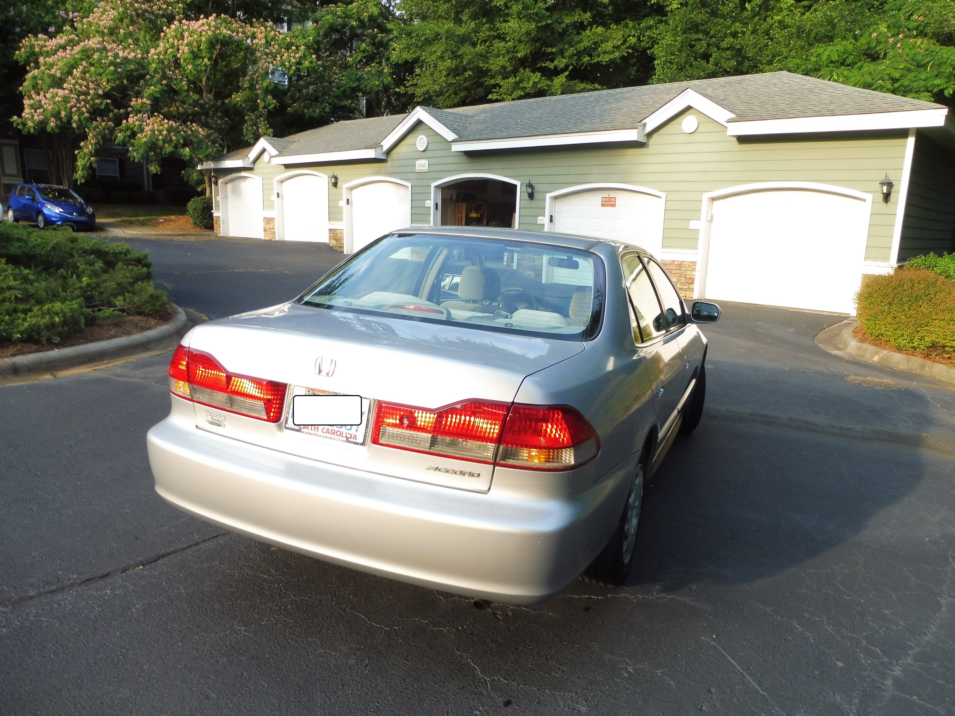 2001 Honda Accord LX With Miles Sale In Charlotte NC