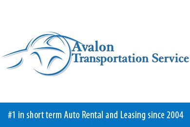 avalon transportation service month to month car rental used