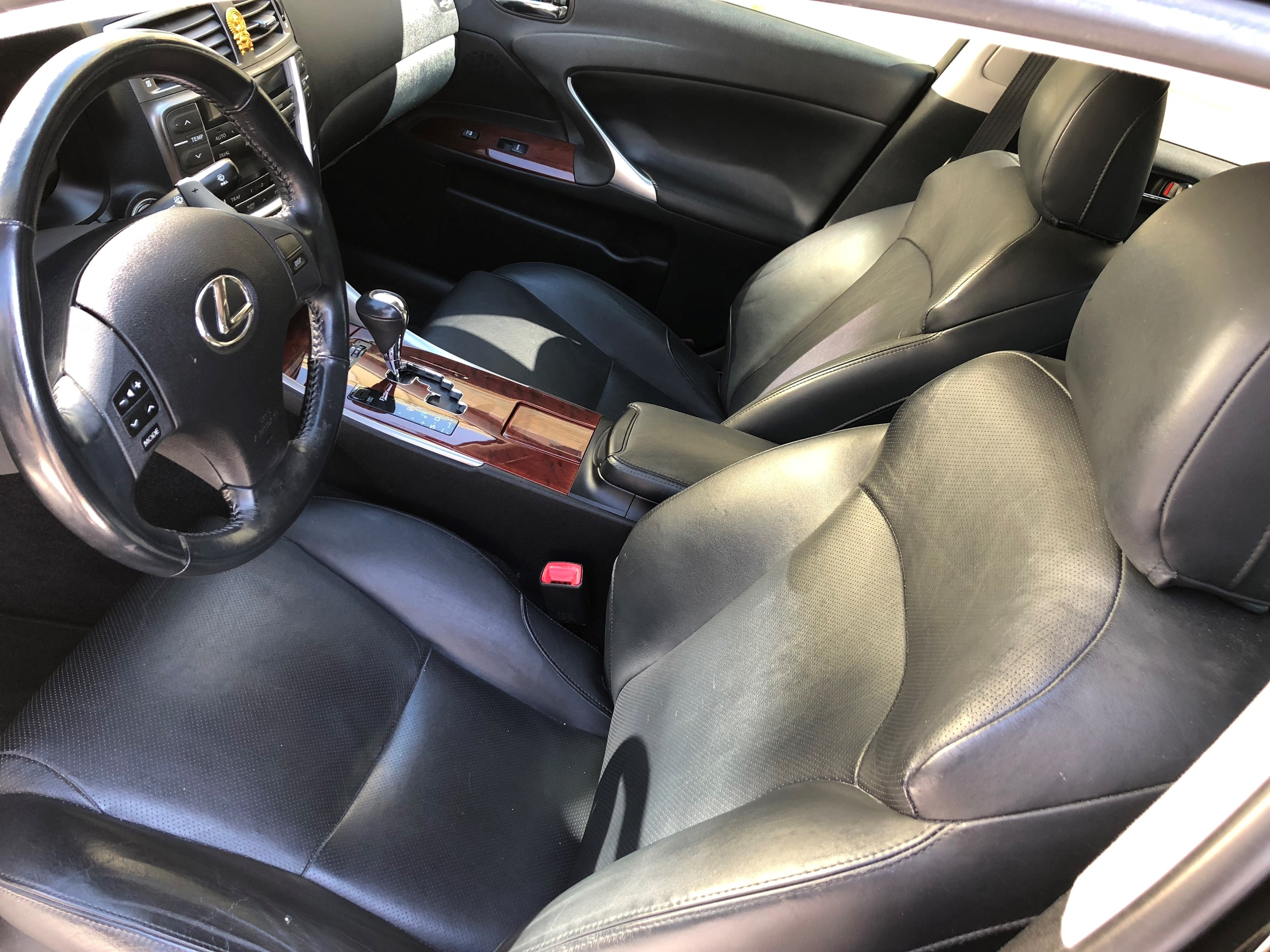 2008 Lexus IS250 Sedan RWD Black - Single Owner, Great