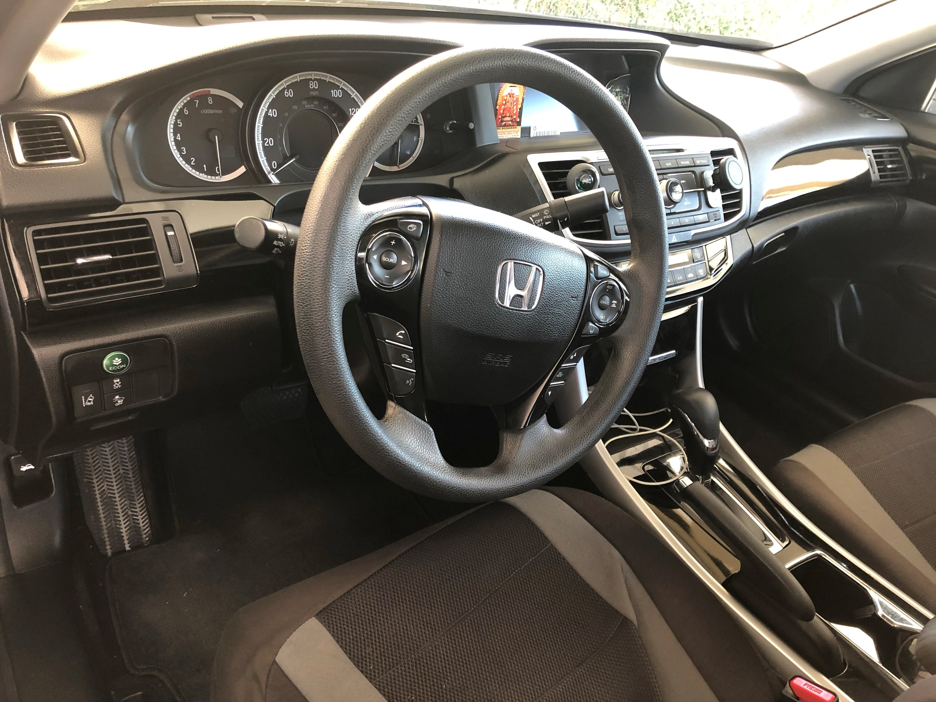 2016 Honda Accord Lx With Sensing Excellent Condition